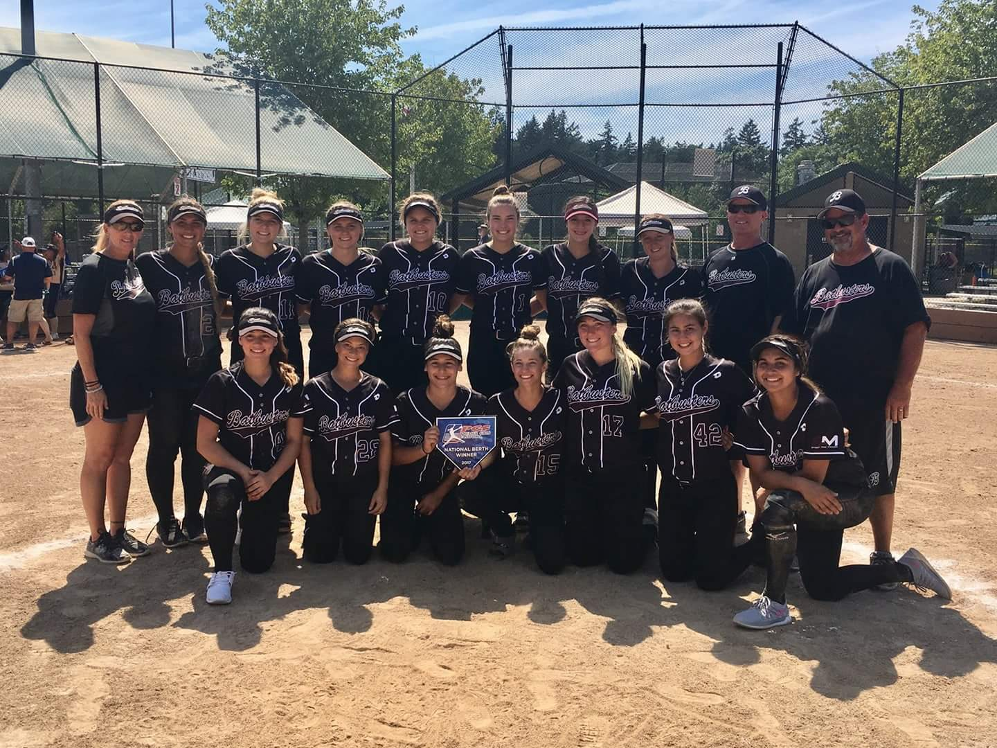 Congrats to Batbusters Clark for winning a PGF berth