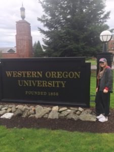 Ashley Bline Commits to Western Oregon Univ
