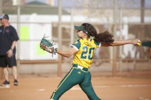 Former Batbusters Gomes Callie Nunes named Louisville Slugger/NFCA Division II National Pitcher of the Week