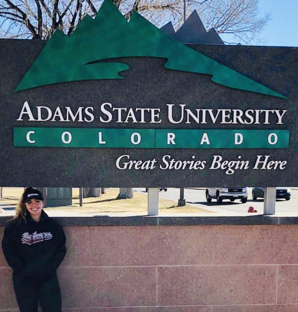 Talisa Vigil Commits to Adams State Univ.