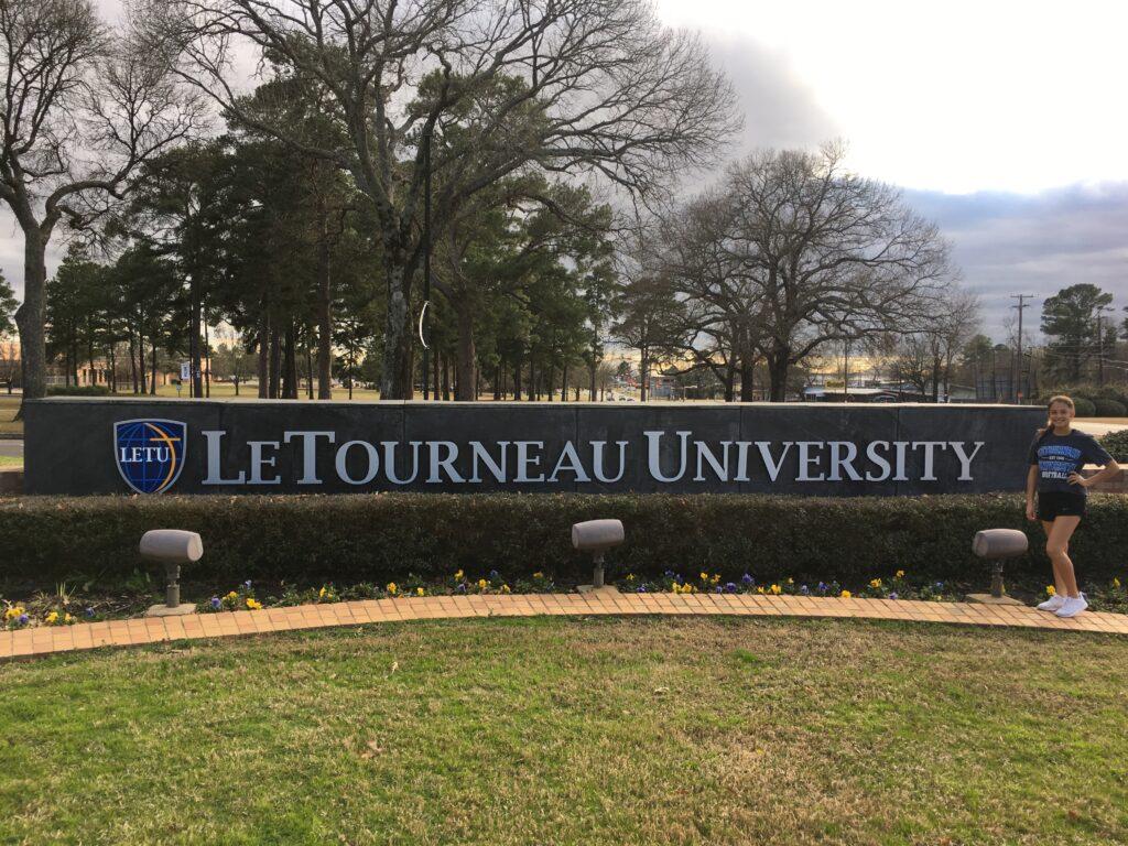 Jazzlynn Velasquez commits to LeTourneau University!