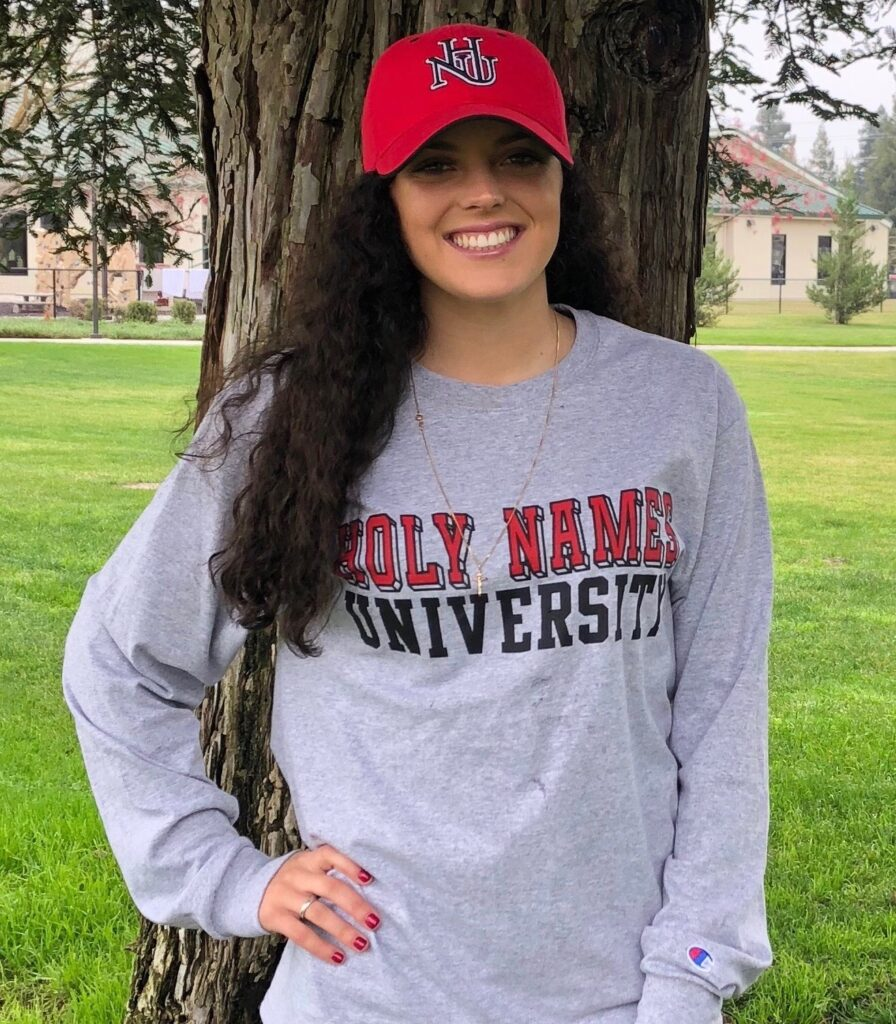 Bailey Correia commits to Holy Names University!