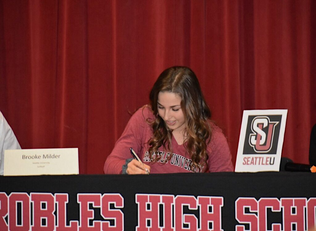 Brooke Milder commits to Seattle University!