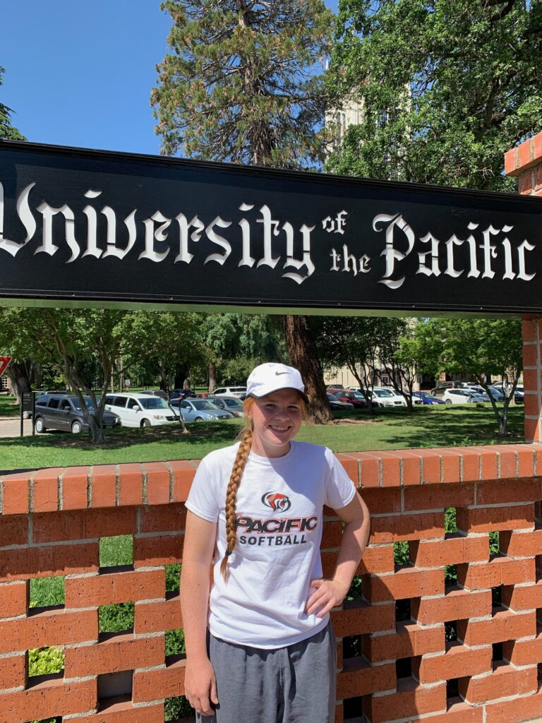 Natalie Linker commits to University of the Pacific (UOP)!