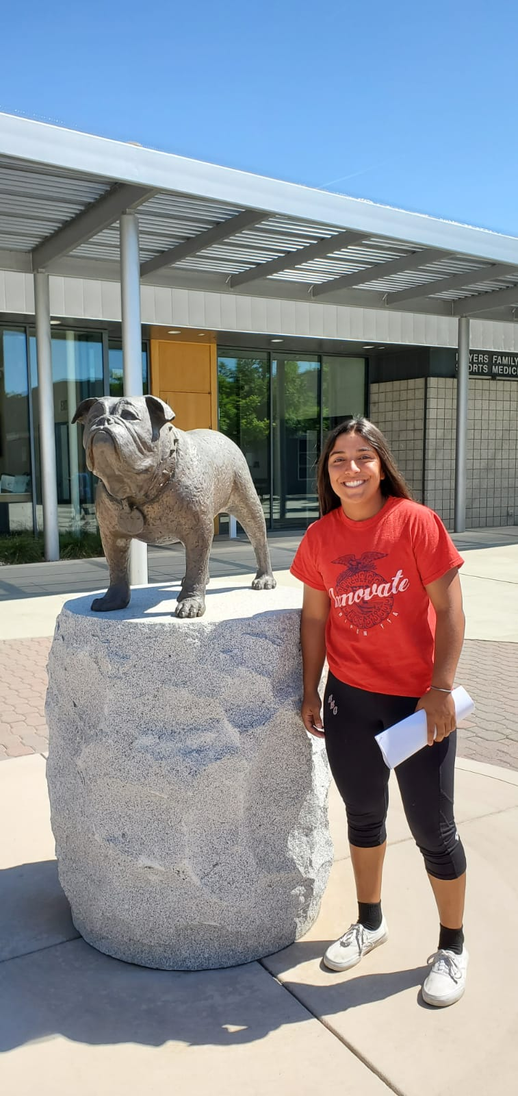 Liliana Mejia commits to Fresno State University!