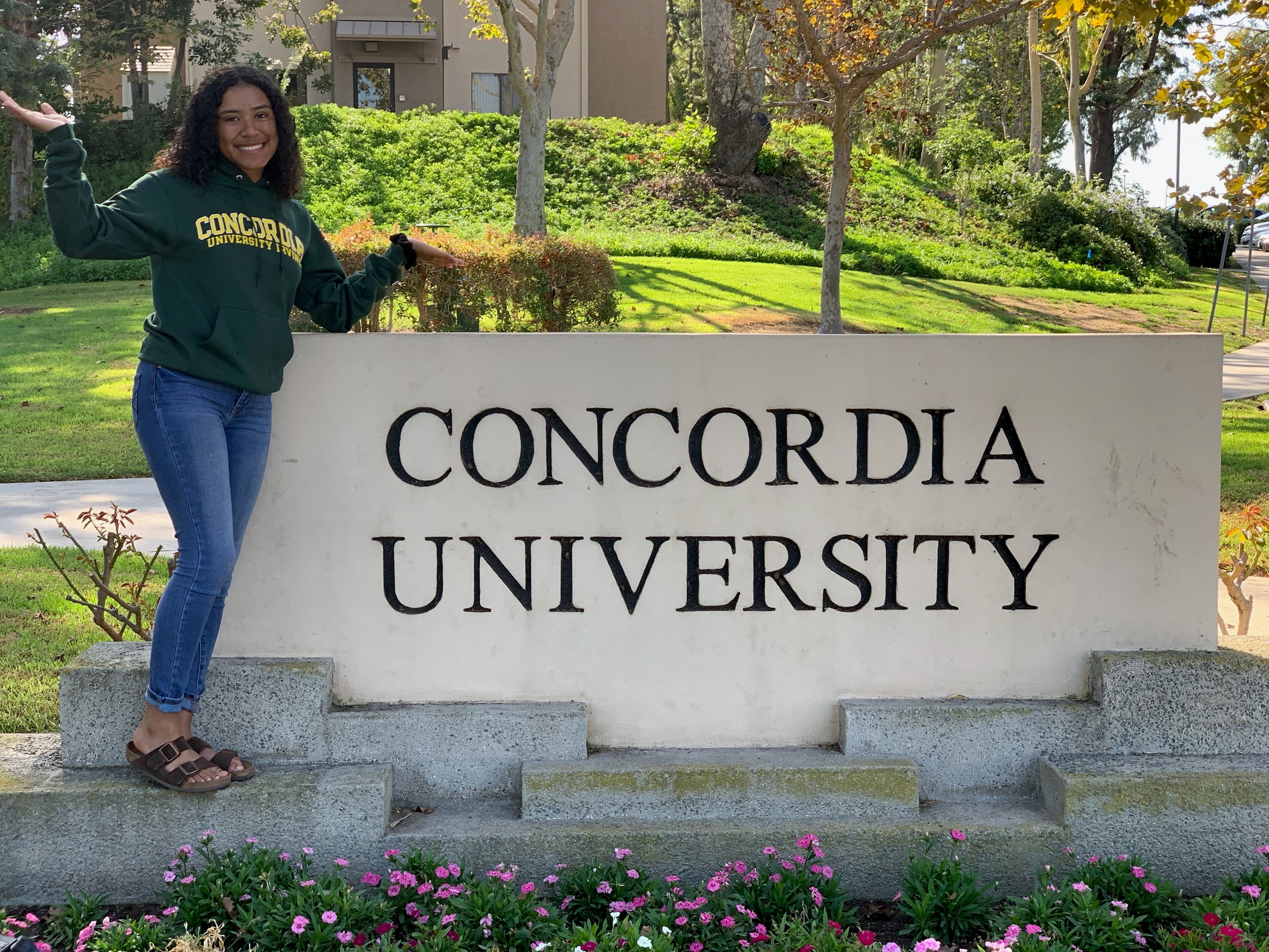 Kaia Nisby commits to Concordia University, Irvine!