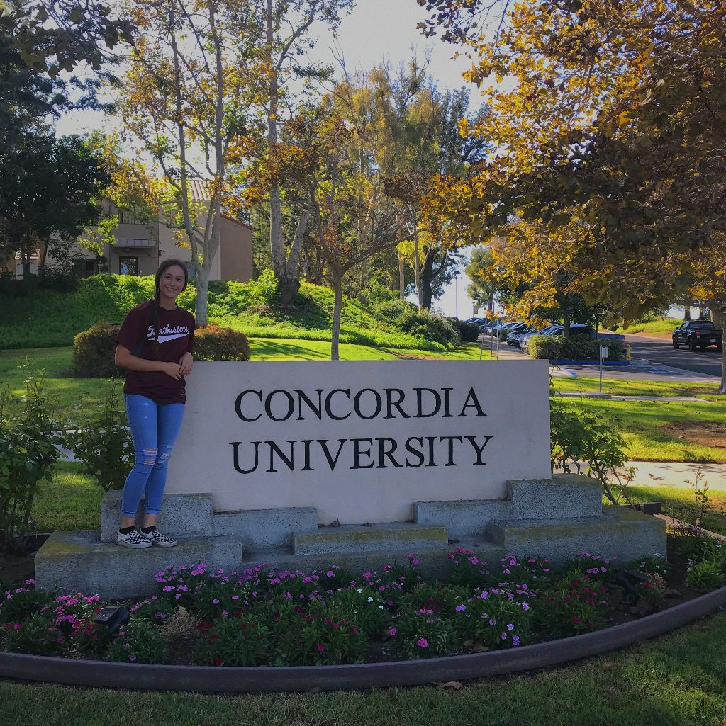 Megan Johnson commits to Concordia University, Irvine!