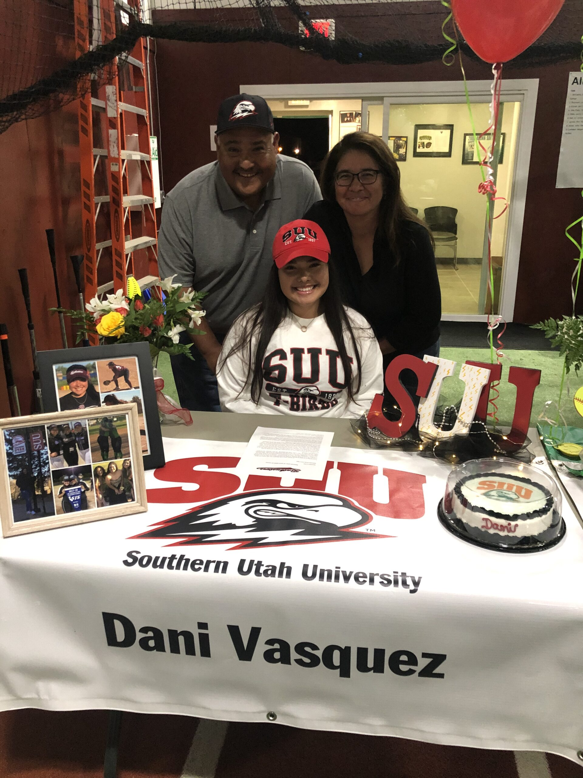 Danielle Vasquez commits to Southern Utah University!