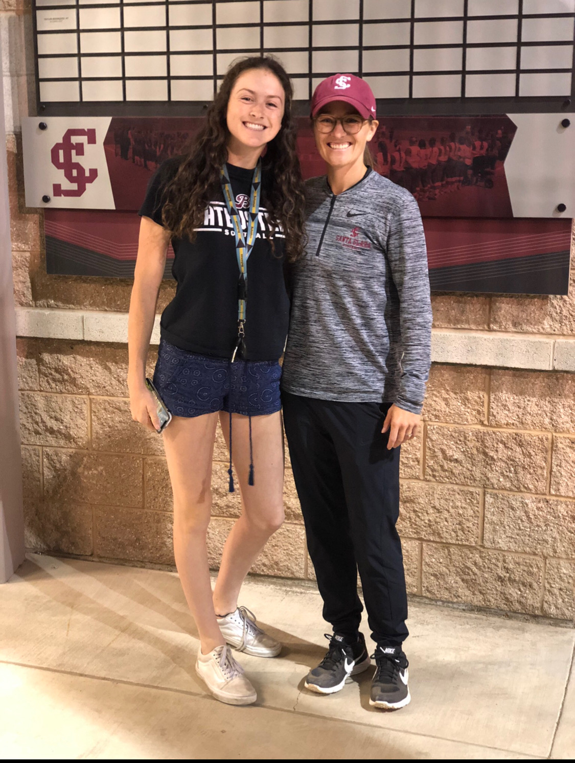 Morgan Salmon commits to Santa Clara University!